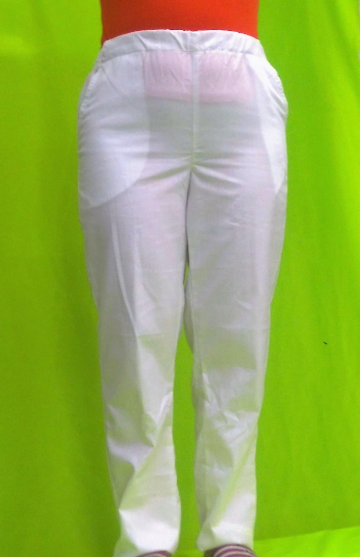 7971454f977f Dámske kucharske nohavice biele